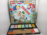 Monopoly Family Guy Collectors Edition Board Game Pewter Tokens Boardgame