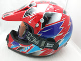 HJC CLX Dieter Def Design XL Helmet Red Extra Large Motocross Motorcycle Vintage 97
