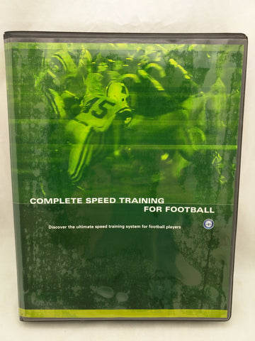 5 DVD Complete Speed Training For Football Course Athletes Acceleration Manual
