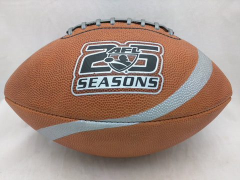 AFL 25 Seasons Football Spalding Offical Arena Ball