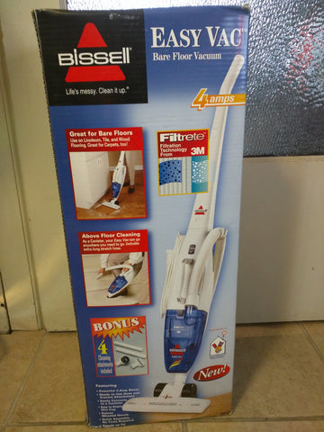 Bissell Easy Vac Bare Floor Carpet Stick Canister Corded Vacuum 3101-2