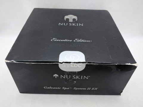 AS-IS Nu Skin GALVANIC SPA SYSTEM II EX Black AgeLoc New Facial Gels Body Shaping
