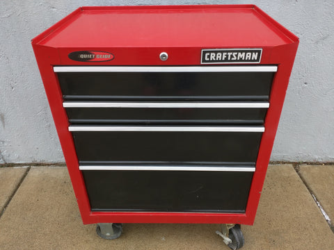 Craftsman Tool Chest Rolling 4 Drawers Base