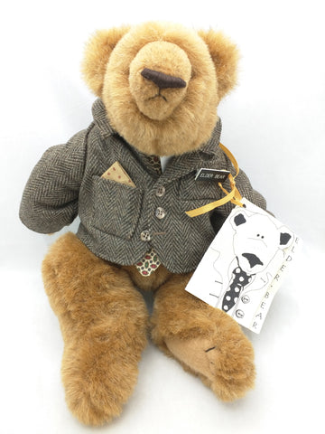 "15"" Elder Bear Missionary LDS Plush Stuffed Animal Mission Mormon"