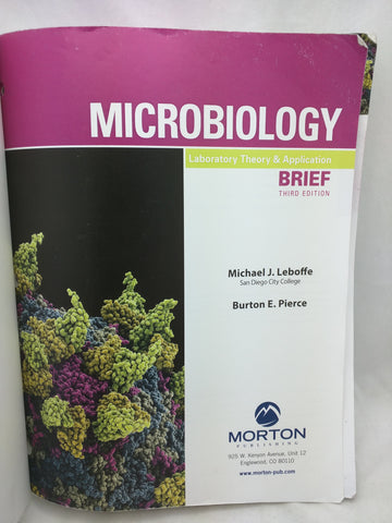 AS-IS Microbiology Laboratory Theory & Application, Brief 3e