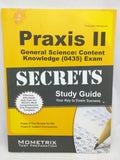 Praxis II General Science Content Knowledge 0435 Exam Secrets Study Guide Test Review Subject Assessments