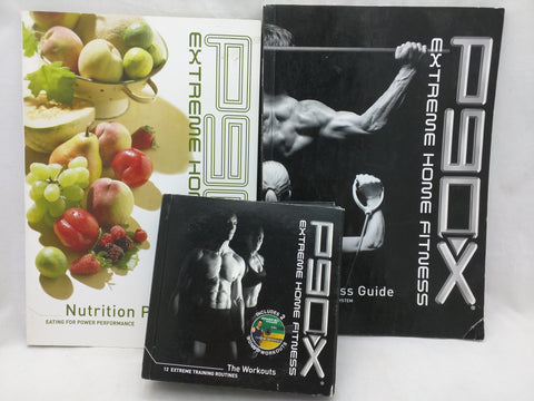 Plan Guide P90X Extreme Home Fitness Beach Body 13 DVD Complete Set 12 Workout