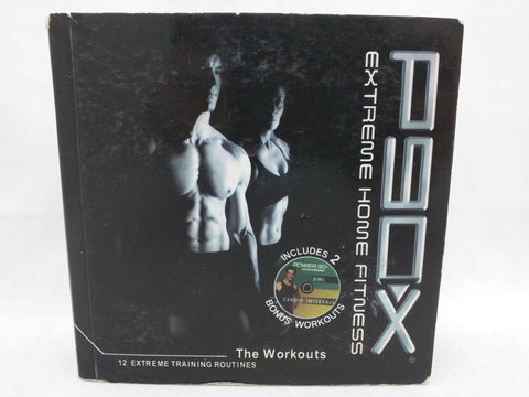13 DVD P90X Extreme Home Fitness Beach Body DVD Complete Set 12 Workouts