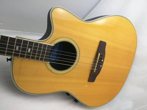 AS-IS Applause AE 38 Ovation Acoustic Electric Guitar Roundback