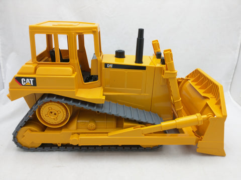 "13"" CAT Bulldozer Caterpillar Bruder Germany Construction Toy Dozer"