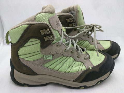 "8.5 Women Danner 7 Men Sobo 6"" Taupe Green Boots"