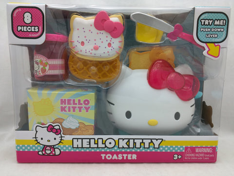 New Toaster Hello Kitty Toy 8 Pieces Preschool 3+ Sanrio Pop Up Action