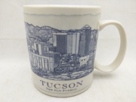 18oz Mug Tucson The Old Pueblo Starbucks Coffee Architecture 2008