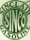 4 Sinclair Logo Gasoline Drinking Glasses 1916 1926 Station