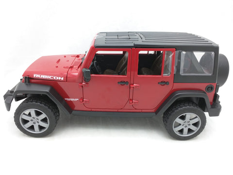Rubicon Bruder Jeep Wrangler Unlimited Germany 2014 Toy Car Model