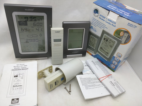 La Crosse Technology WS-9037U-IT WS-9080U-IT Weather Station Combo w/Sensor