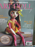 7 ART DOLL QUARTERLY Magazines 2013 2014 2015 Lot Handcrafted Halloween Steampunk Recycled