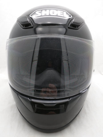 L Shoei RF-1000 Gloss Black Motorcycle Helmet Full Face Large