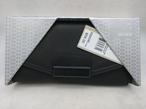 NEW Honest Black Wallet Kenneth Cole Reaction Zip Around $58 MSRP