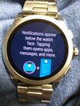 MKT5025 MICHAEL KORS LUXURY SPORT GRAYSON ACCESS SMARTWATCH TOUCH SCREEN MSRP:$350
