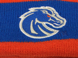 NEW POM Winter Hat Boise State Broncos University BSU Cap Beanie Donegal Bay