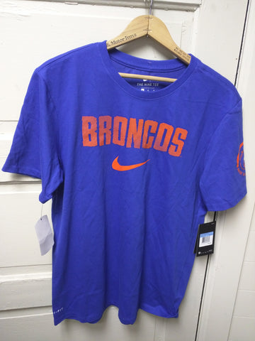 NEW M $30 Shirt Nike Boise State Broncos University BSU Dri-Fit Medium