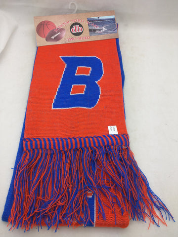 NEW Winter Scarf Boise State Broncos University BSU 2-Sided School Spirit Donegal Bay