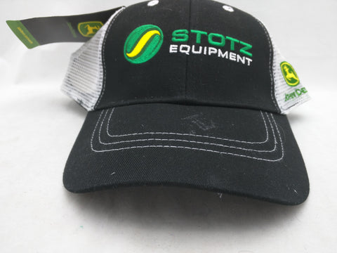 NEW Hat Stotz Equipment John Deere Cap Farming Velcro Adjustable