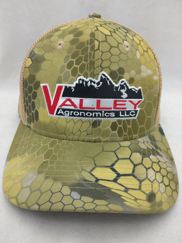 NEW S M Hat Lizard Print Mountains Valley Agronomics LLC Cap