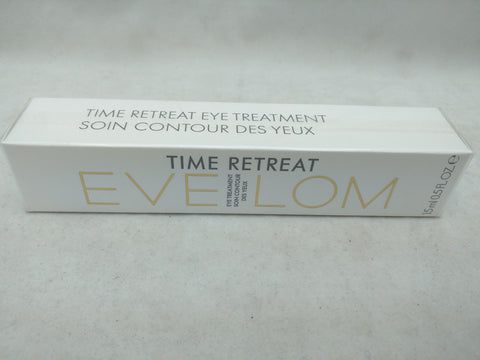 NEW Eve Lom TIME RETREAT EYE TREATMENT 15ml/ 0.5 Fl. Oz.