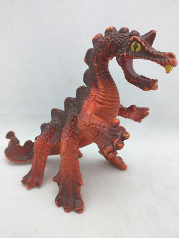 Lava Dragon 1982 Remco Saga of Crystar Warrior Beasts Action Figure VTG Brown Orange