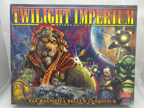 Twilight imperium Second 2nd Edition Board Game Boardgame Uncounted