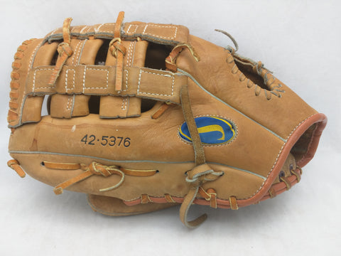 42-5376 Carl Yastrzemski Lefty LHT Spaulding Baseball Glove Mit Endorsed Leather