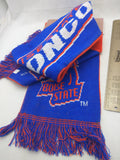 NEW Broncos V2+ BSU Scarf Winter Boise State Broncos University 2-Sided School Spirit Donegal Bay