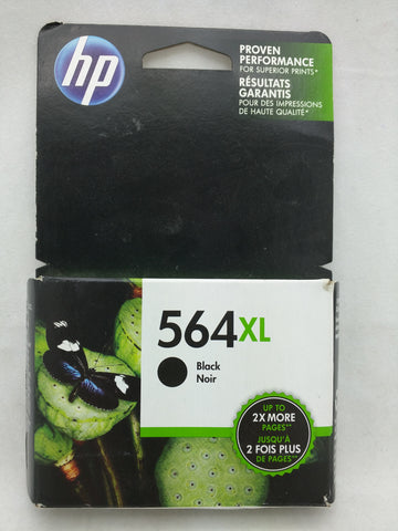 564XL Black Oct 2018 EXPIRED HP Ink Injet Printer Cartridge NOS Genuine