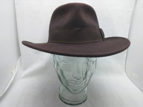 Indiana Jones Hat Fedora 2008 Headwear Collection Brown