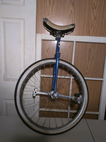 Unicycle Hawthorne Montgomery Ward Bike Bicycle Vintage Uni Cycle