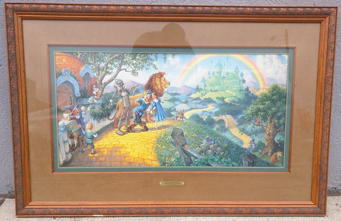 Gustafson Wizard of Oz Print Signed Numbered Scott Framed Limited