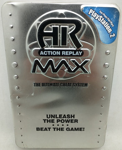 AR Action Replay Max SONY PlayStation 2 Ultimate Cheat System PS2 Code NO MB