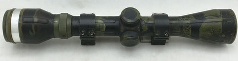 Camo Rifle Scope Japan 811 Mounting Bracket Clear Full Crosshairs Wide Angle Oval Simmons ?