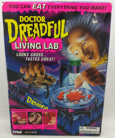1994 Doctor Dreadful Living Lab Tyco Box Set Vintage Rare MD