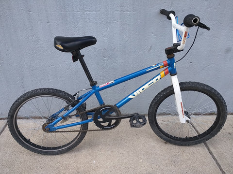 Viper DB Diamondback Freestyle Blue White BMX Bike Bicycle Vintage
