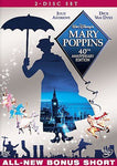 MARY POPPINS - JULIE ANDREWS 40TH ANNIVERSARY EDITION 2-DVD New Sealed