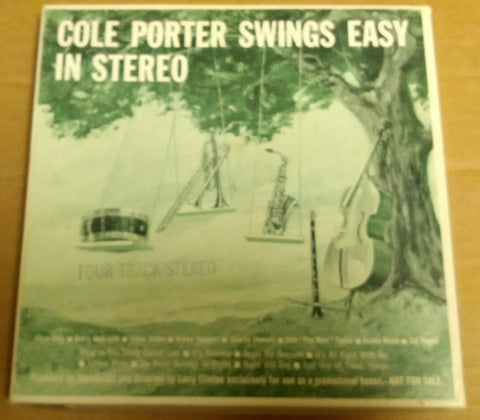 Reel to  4 Track Cole Porter Swings Easy in Stereo Vintage