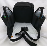 Fanny Waist Pack 2 water bottle drink bag Black Hiking Pacific Crest Trail Gear