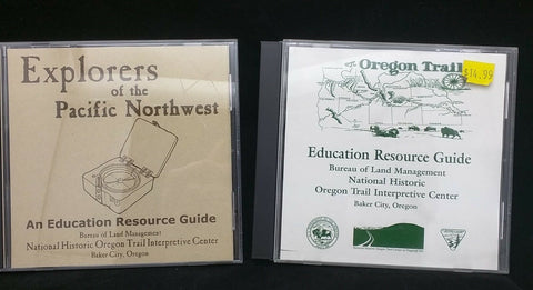 Oregon Trail and Explores of the pacific northwest education resource guide PDF