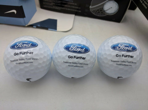 FORD Promo LOGO NEW Nike Hyper Flight One Dozen 12 Golf Balls in Box hyperflight