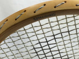 """S""TOP SPEED Spalding Pancho Gonzales Vintage Ash Wood Tennis Racquet NEW 4 5/8"
