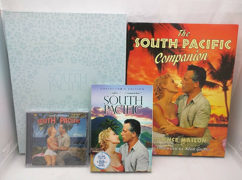 Collector's Edition SOUTH PACIFIC GIFT SET - 2 DVD'S + New CD + BOOK Boxed WOW!