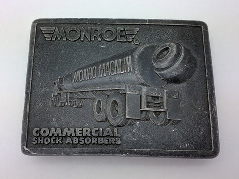 1976 MONROE MONRO MAGNUM SHOCK ABSORBERS SEMI-TRUCK BELT BUCKLE Commercial R&S
